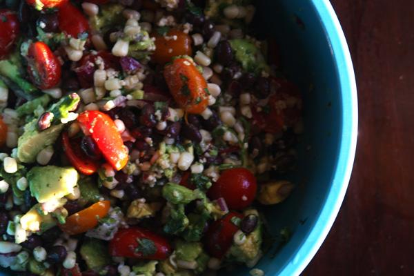 Mince Republic - Black Bean & Corn Salsa Recipe