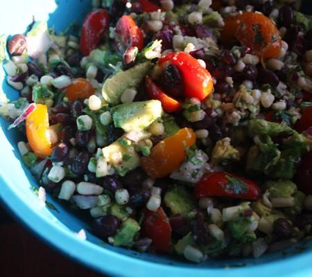 Foodist Republic - Black Bean & Corn Salsa Recipe