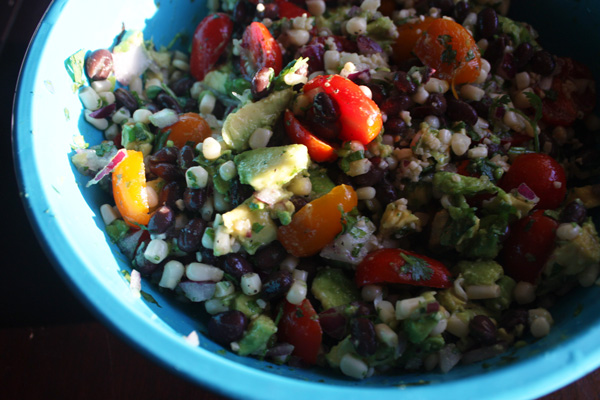 Mince Republic - Black Bean & Corn Salsa Recipe