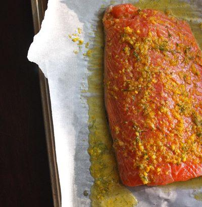 Foodist Republic - Citrus Dill Salmon Recipe