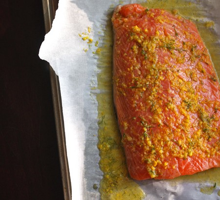 Foodist Republic - Citrus Dill Salmon Recipe