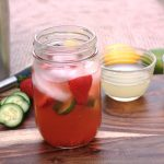 Strawberry & Cucumber Fusion Cocktail