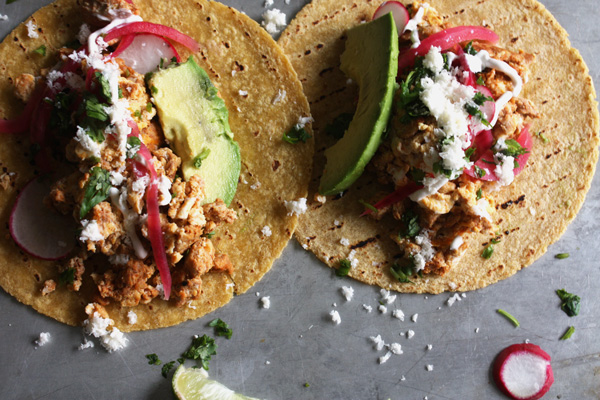 Chorizo & Egg Breakfast Tacos Recipe - Mince Republic