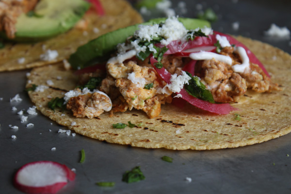 Chorizo & Egg Breakfast Tacos Recipe - Mince Republic