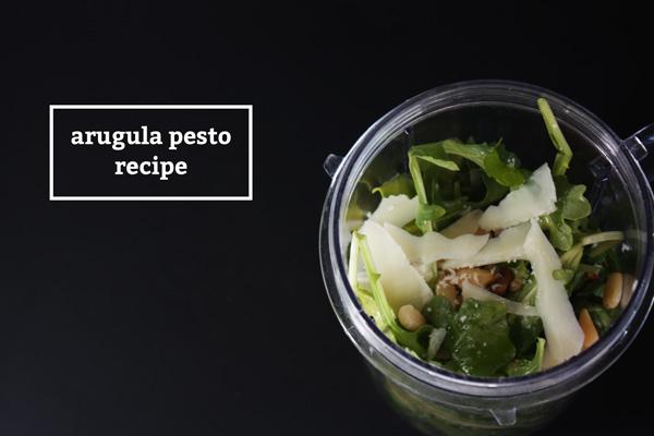 Arugula Pesto Recipe - Mince Republic