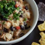 Beer Queso Dip with Chorizo