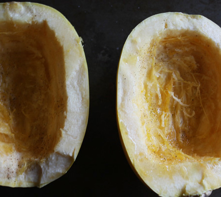 How to Roast Spaghetti Squash - Mince Republic