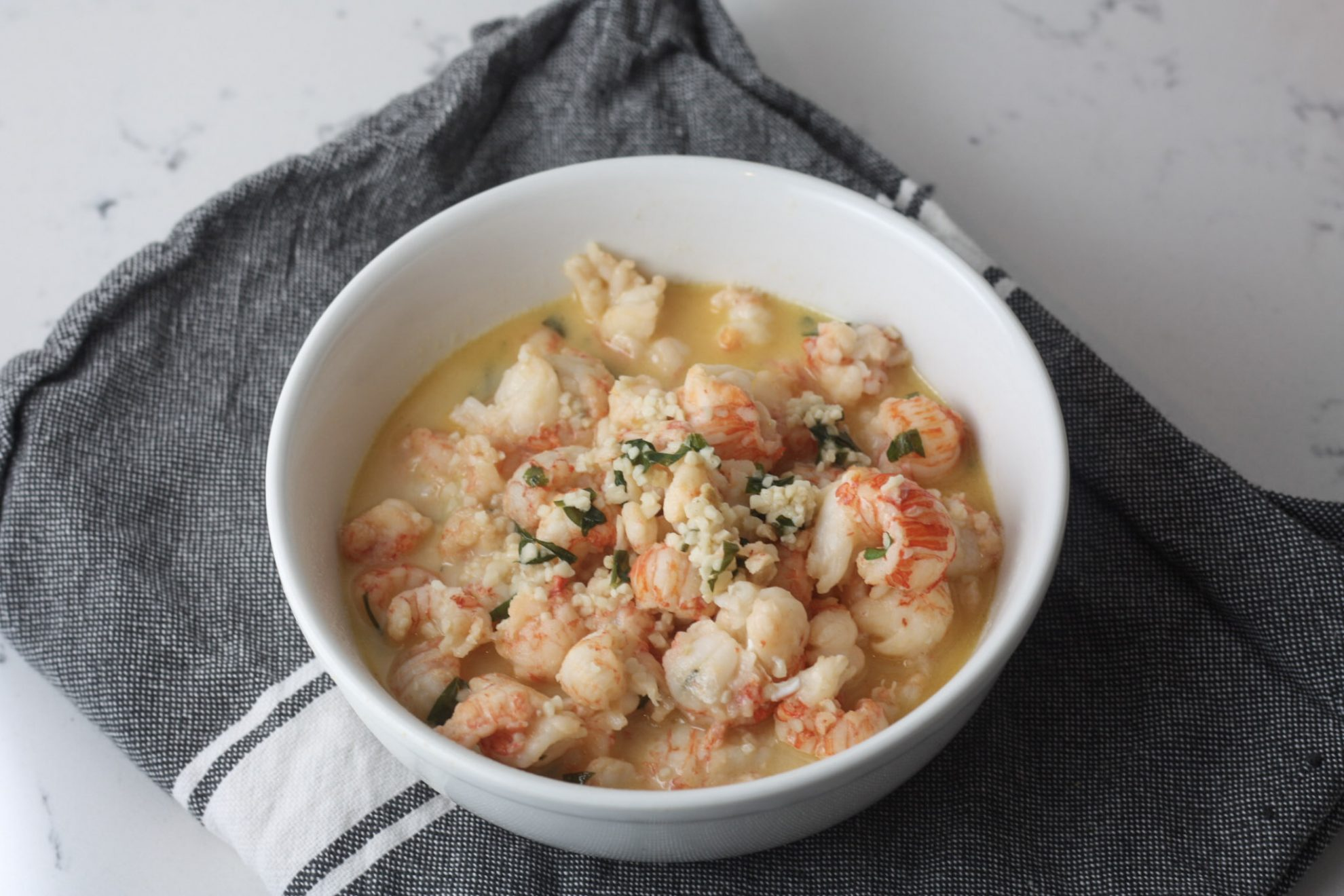 Langostino with Garlic Herb Butter - MINCE REPUBLIC