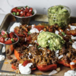 Bell Pepper Nachos recipe via Mince Republic