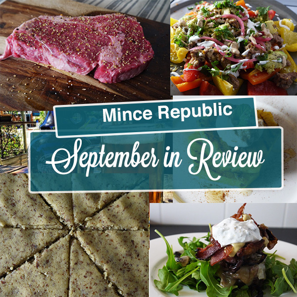September in Review - Mince Republic