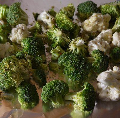 Roasted Broccoli and Cauliflower Recipe - Mince Republic