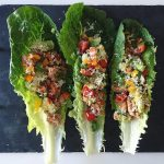 Ground Turkey Tacos on Romaine (Lettuce Wrap)