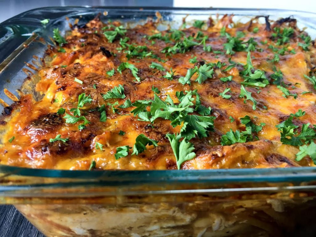 Buffalo Chicken Casserole Recipe - Mince Republic