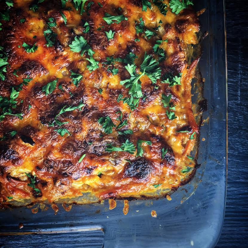 Buffalo Chicken Casserole - Mince Republic