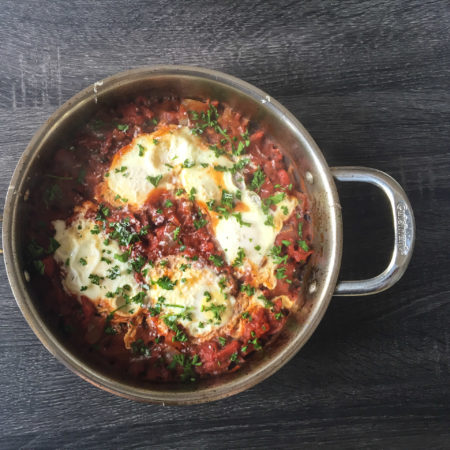 Shakshuka (Eggs in Purgatory) Recipe from Mince Republic