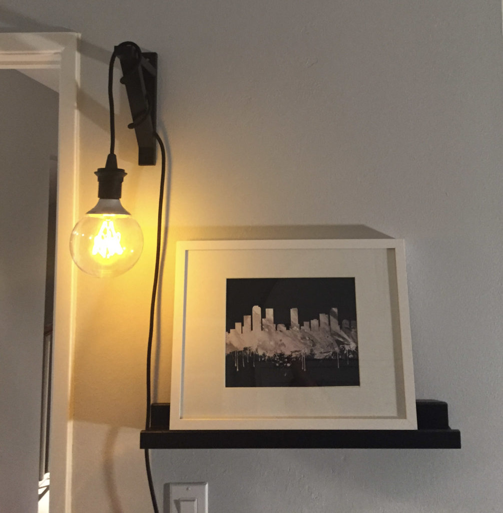 Ikea Hanging Light Hack - Mince Republic