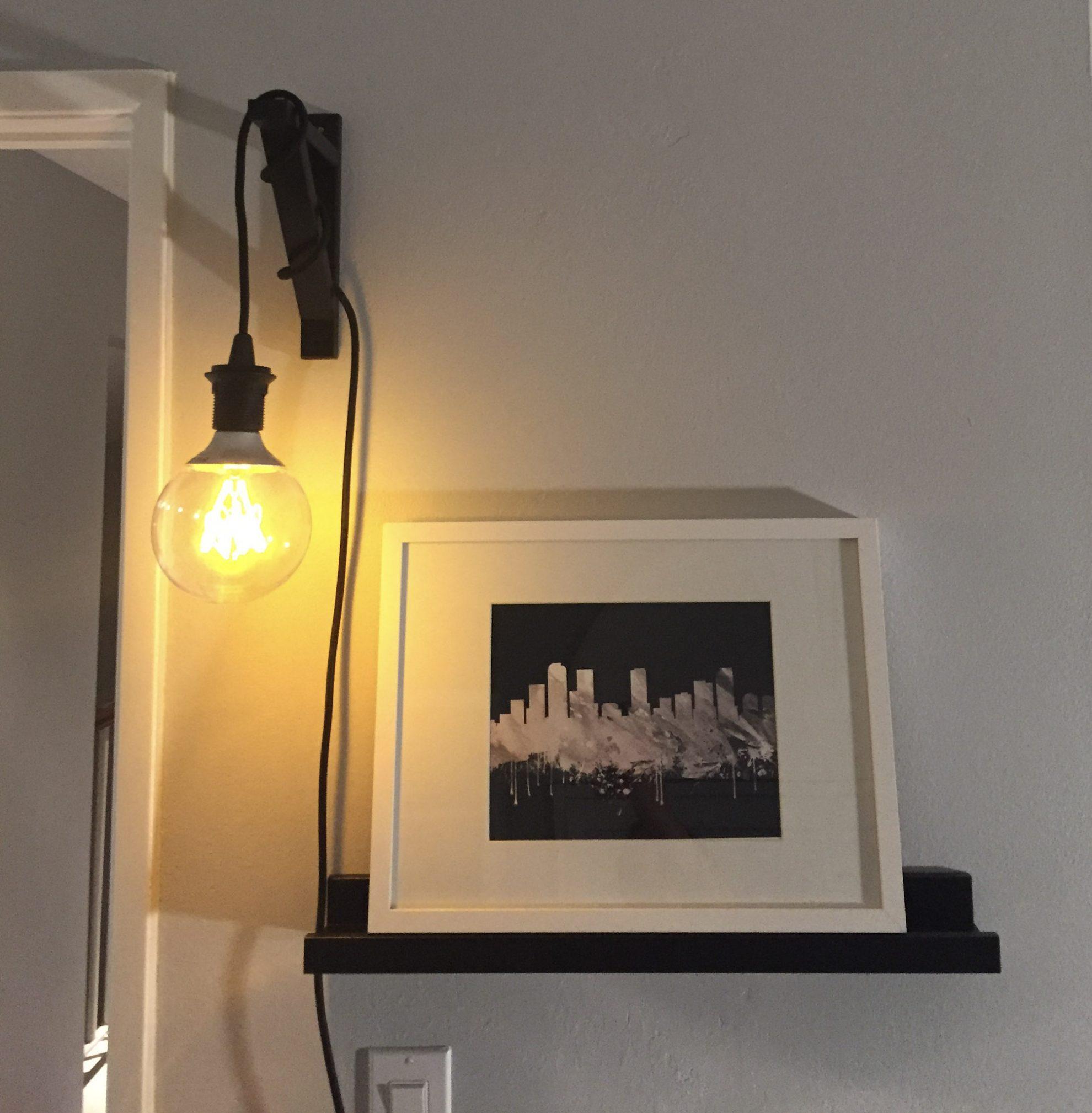 industrial hanging light ikea ekby valter hack mince republic. Black Bedroom Furniture Sets. Home Design Ideas