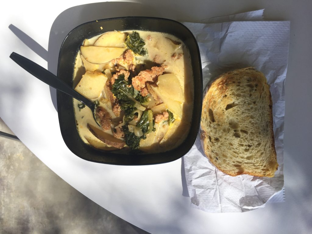 Sausage, Potato, Kale Soup (Zuppa Toscana) Recipe from Mince Republic