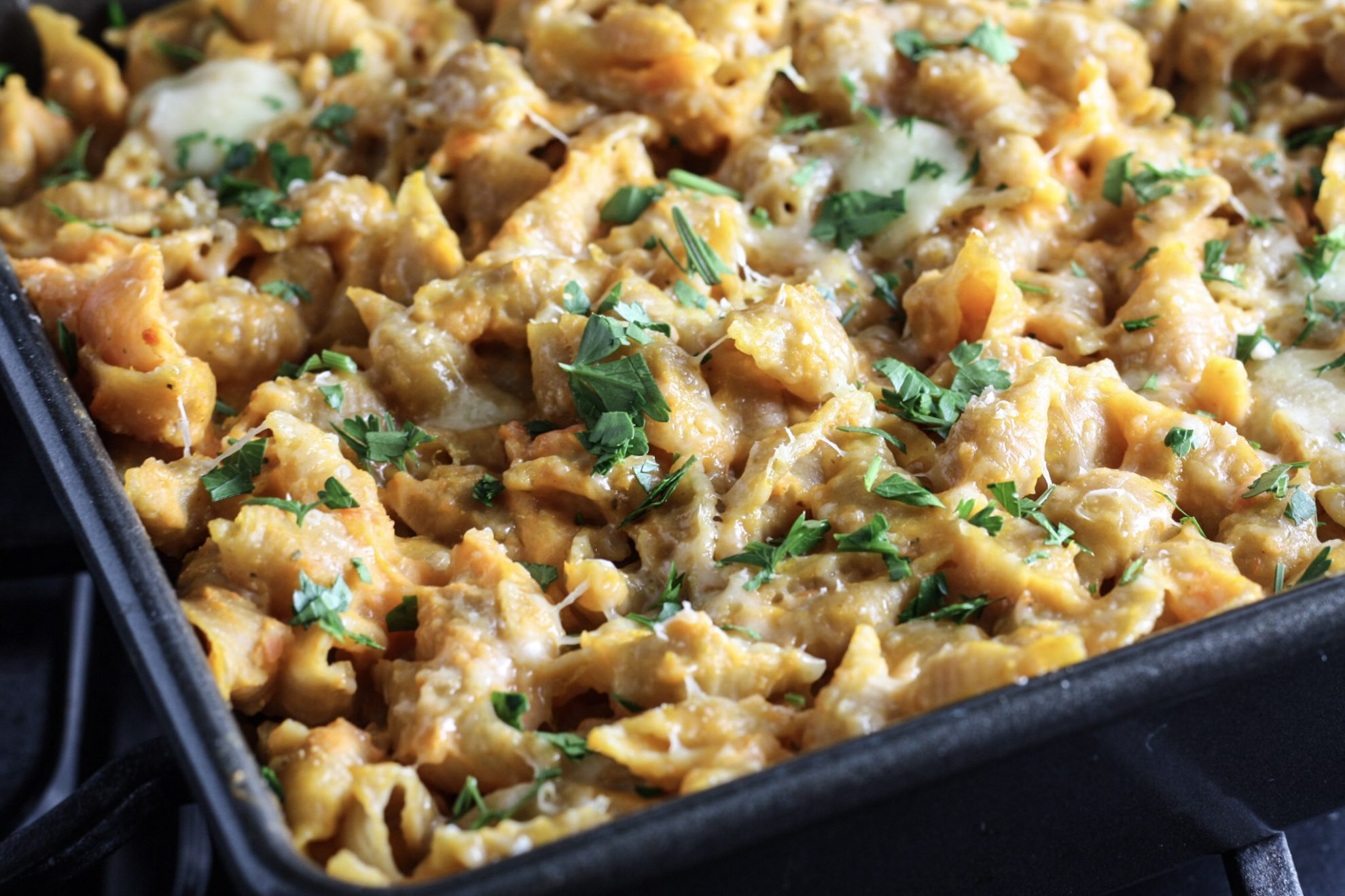 Healthy Butternut Squash Mac and Cheese recipe from Mince Republic