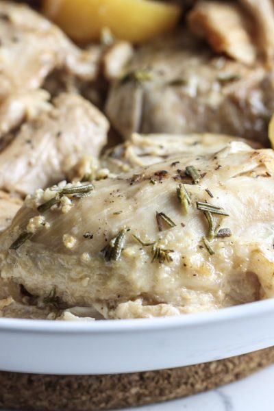 Lemon Chicken Thighs (Instant Pot) Recipe from Mince Republic