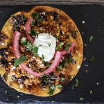 Chorizo and Egg Breakfast Tostada