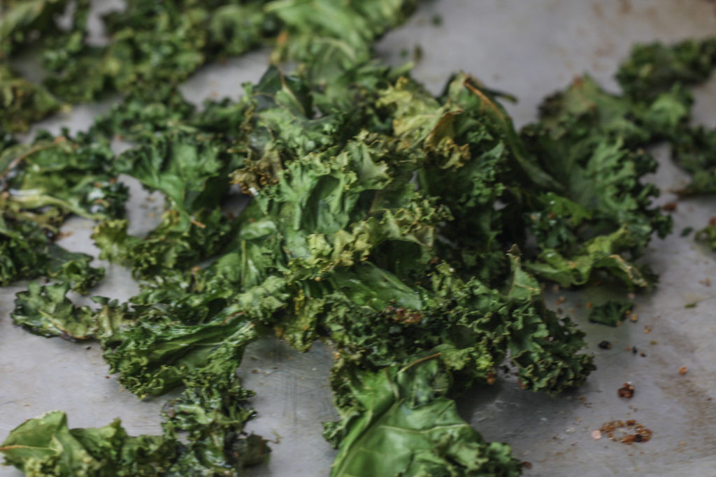 Kale Chips recipe via Mince Republic