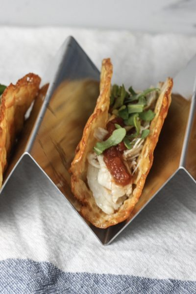 Cheese Taco Shell recipe | Keto Gluten Free taco shell made out of Cheese slices | mincerepublic.com
