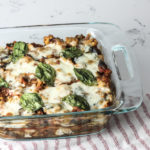 Zucchini Noodle Lasagna with Meat Sauce | Paleo, Ketogenic, Low Carb, Gluten free | mincerepublic.com