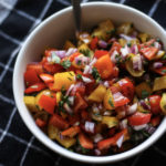 Bell Pepper Pico de Gallo