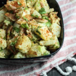 Potato Salad with Bacon & Homemade Mayonnaise