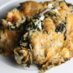 Creamy Spinach and Artichoke Chicken Bake   Easy and flavorful recipe perfect as a make ahead meal!   Low carb, Keto   mincerepublic.com