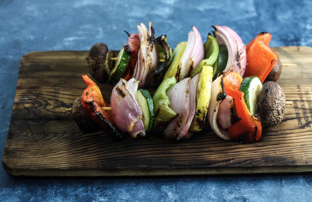 Grilled Vegetable Skewers | Perfect grilled side dish! | mincerepublic.com