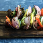 Grilled Vegetable Skewers | Perfect grilled side dish! | mincerepublic.com