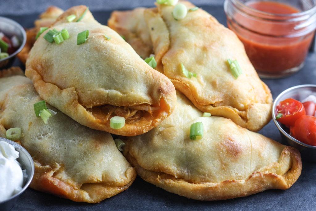 Buffalo Chicken Empandas Recipe (Keto)   #keto #lowcarb #gameday   mincerepublic.com