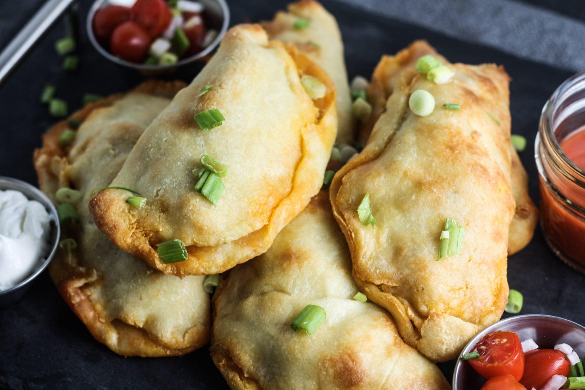 Buffalo Chicken Empanadas (Keto) - MINCE REPUBLIC