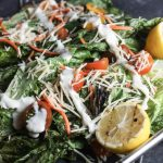 Grilled Caesar Salad Recipe | A beautiful twist on a classic! #grilling | mincerepublic.com