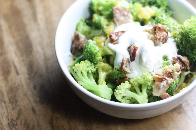 Loaded Broccoli recipe   A great way to upgrade broccoli! #keto #lowcarb   mincerepublic.com