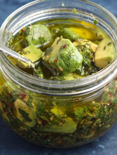 Avocado Chimichurri | A simple garnish for any dish you like but especially grilled meats and vegetables #lowcarb #keto #paleo | mincerepublic.com