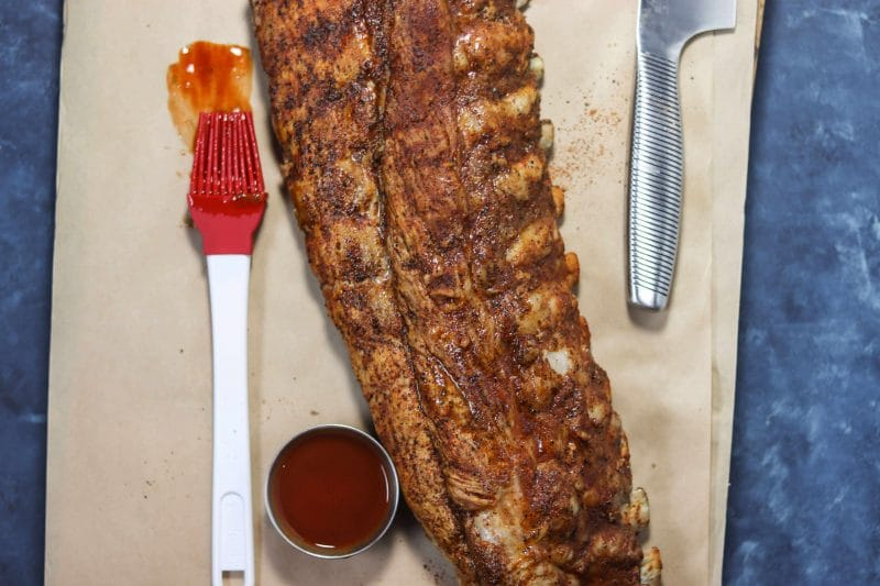 Instant Pot Ribs Recipe | Made with a delicious Coffee BBQ rub or other rub of your choice, these ribs are fall off the bone good! #lowcarb #keto #paleo | mincerepublic.com