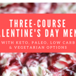 Three-Course Valentine's Day Menu with Wine Pairings