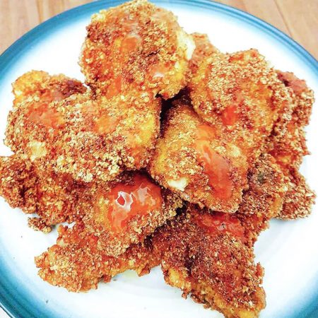 Keto Fried Chicken Recipe | an easy #lowcarb #keto fried chicken | mincerepublic.com