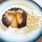 Chocolate Peanut Butter Lava Mug Cake