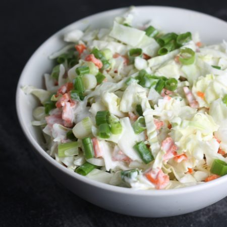 Creamy Mexican Cabbage Slaw