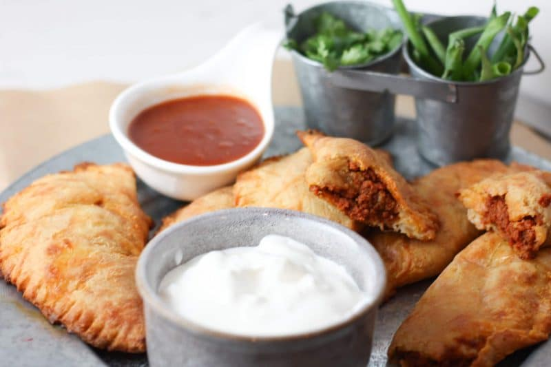 Keto Chorizo Empanadas Recipe | Delicious #lowcarb and #keto friendly empanadas recipe! | mincerepublic.com