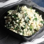 Creamy Cauliflower & Spinach