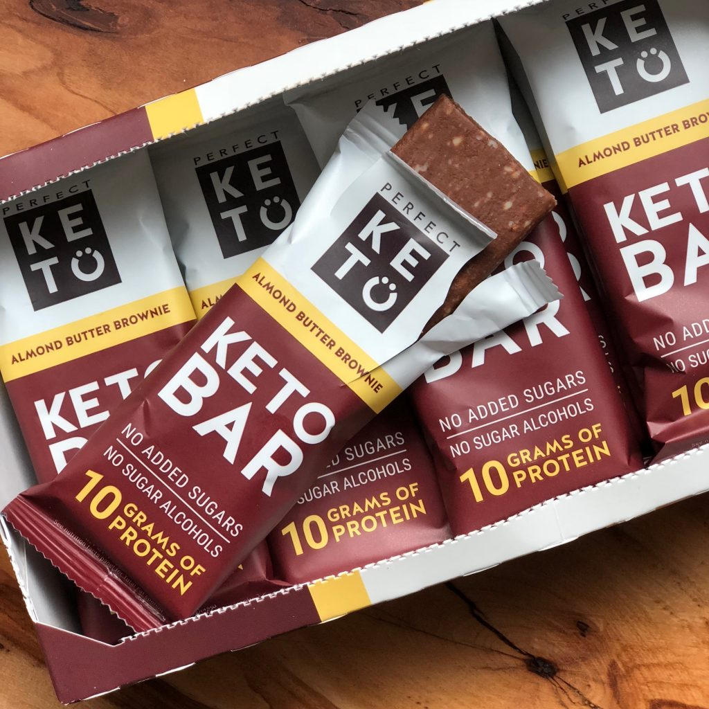Perfect Keto Bar Review: a low carb and keto friendly snack - MINCE