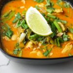 Thai Chicken Coconut Soup (Khao Soi)