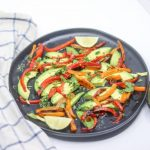 Avocado & Bell Pepper Salad