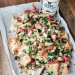 Alabama White Sauce Chicken Sheet Pan Nachos