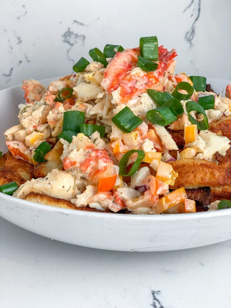 Crab Fries Recipe! | #keto #lowcarb | mincerepublic.com